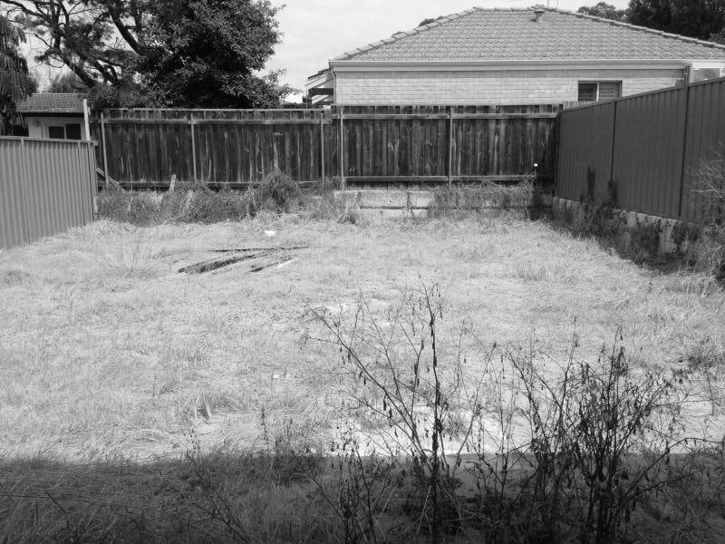 landscaping Perth Before