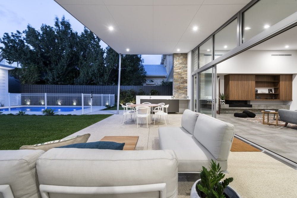 Bring the outdoors in with landscaping to suit every area of your backyard