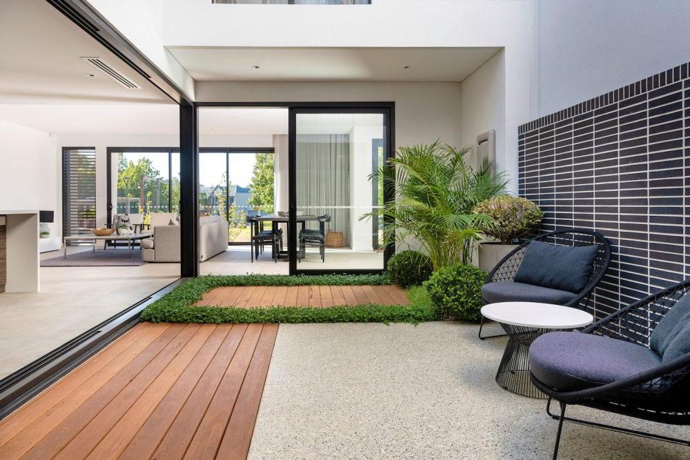 Landscape design for small space