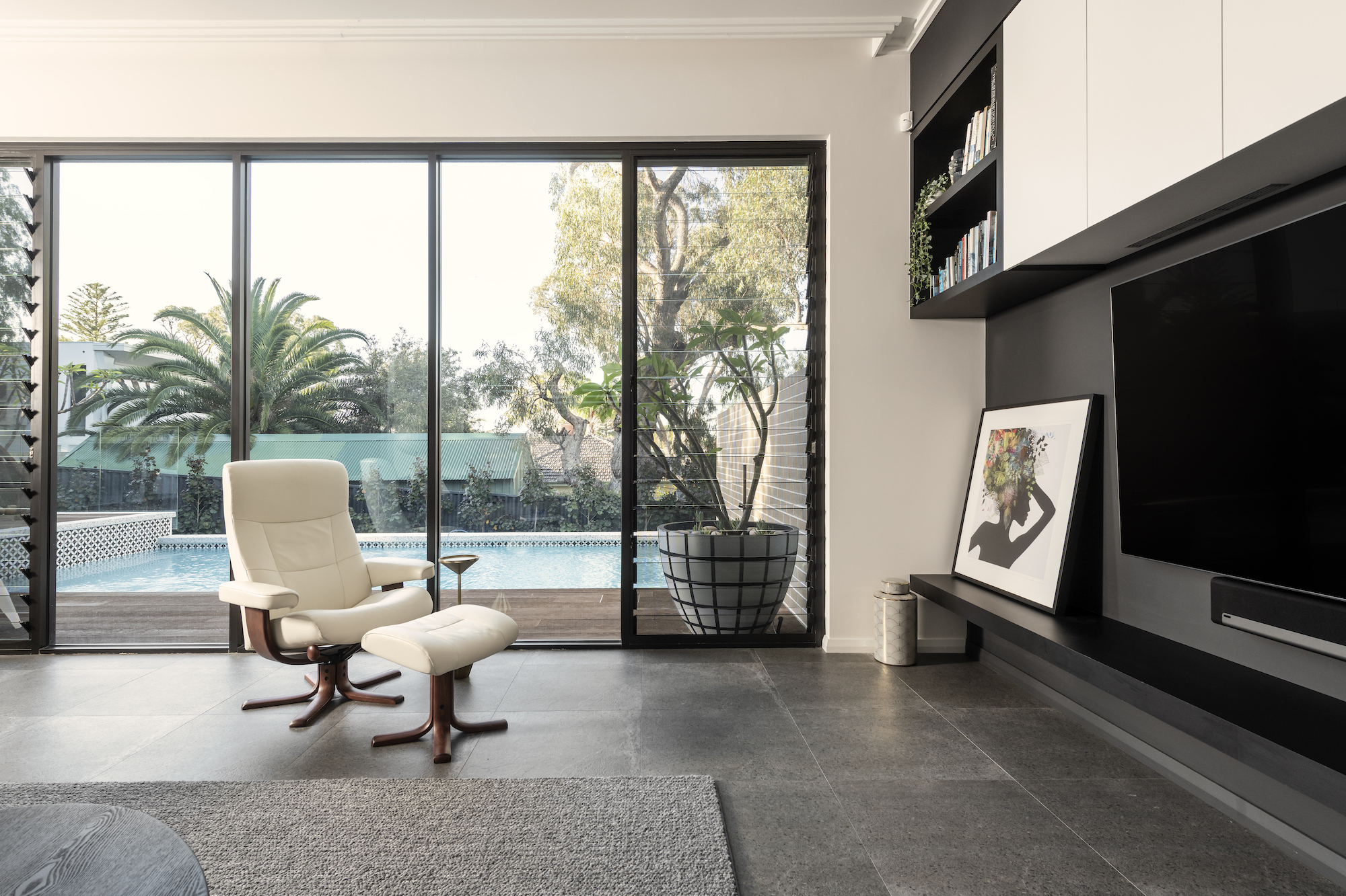 Display Home Landscaping Window View